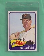 1965 Topps S.F. Giants Del Crandall # 68 NM-MT Low Population Card !!