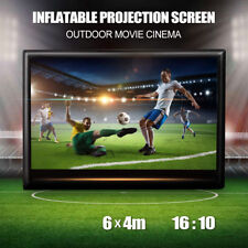 Pro Inflatable Giant Movie Screen Outdoor Projector Cinema Theatre Backyard 6x4m