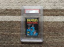 1964 OPC BEATLES COLOR PACK PSA GRADED 8
