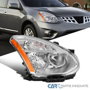 For 08-13 Nissan Rogue Select Crystal Clear Headlight Lamp Turn Signal Right