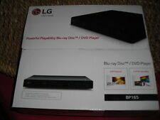 LG Electronics BP165 Blu-Ray & DVD Player with USB Playback,Never opened