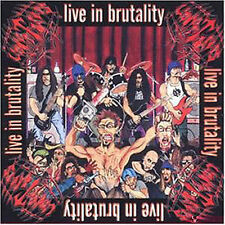 UNDERTAKERS - Live in brutality CD (Nocturnal, 1999) *rare OOP Death Metal