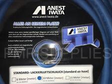 Anest Iwata 10m Metre Anti static Booth / Spray Gun Air Hose HIGH QUALITY BLUE