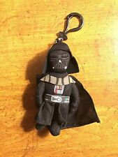 "Star Wars Disney Darth Vader Toy Bag Clip Key Chains Coin Bag Clip 8"" Soft Plush"