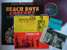 RED VINYL / THE BEACH BOYS CONCERT / WITH TICKET & TOUR INFO SHEET 1966