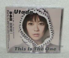 J-POP Utada Hikaru This is the One 2009 Taiwan CD