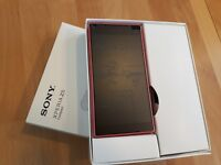Sony Xperia Z5 compact 32GB / Weiss + Schwarz + Gelb + Rosa / mit Folie / in Box