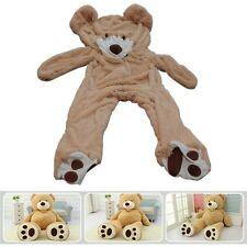 """78""""(6.5 Feet) Giant Teddy Bear Cover Light Brown, No Filler,for gift"""