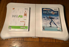 Wii Balance Board with Wii Fit & Ski And Shoot (sealed) - Fully Tested w/manuals
