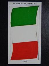 The Sun Soccercards 1978-79 - Eire - Flag of Eire #952