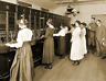 """1918 Army Phone Operators, Camp Devens, MA Vintage Old Photo 8.5"""" x 11"""" Reprint"""