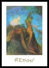 Odilon Redon la nascita di Venere poster immagine stampa d'arte nel quadro in alluminio 50x70cm