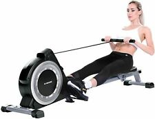 MaxKare Magnetic Rowing Machine 16-Levels Resistance Tension Resistance for Home