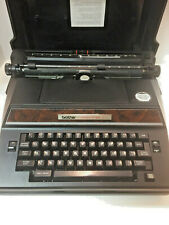 Vintage Brother Correct-O-Ball XL-1 Electric Typewriter Model #7300 with Case