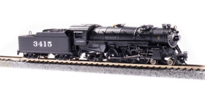 Broadway 6223 Heavy Pacific 4-6-2, ATSF #3417, Paragon3 Sound/DC/DCC