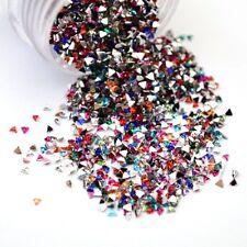 3D UV Gel Nail Art Studs Nagel Sticker DIY Dekoration 2mm #21587