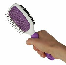 Double-Sided Pet Brush for Grooming & Massaging Dogs,& Other Animals