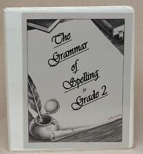 The Grammar of Spelling Grade 2 Logos School Lit Series Veritas Press  Binder