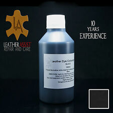 Black Leather Colour Dye VOLVO S80 S60 V70 V60 V40 Interior FIX REPAIR 100ml
