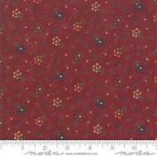 Premium Cotton Fabric-Moda Kansas Troubles-Red Floral- #9622-13