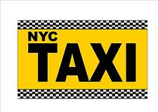 NEW YORK CITY TAXI SIGN riproduzione TAXI SIGN NYC TAXI Sign USA TAXI SIGN