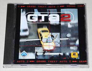 GTA 2 - PC CD ROM JEWEL CASE - GRAND THEFT AUTO II - KLASSIKER - TOP ZUSTAND