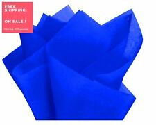 Royal Blue Gift Wrap Pom Pom Tissue Paper 100sheets 15x20inches