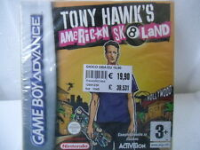 Tony Hawk's American Sk8land -  GAME BOY ADVANCE GBA. NUOVO! ANCORA SIGILLATO