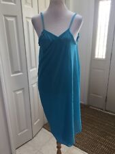 NWT Saress The Ultimate Beach Dress  swim Blue  COVER UP Size L