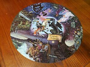 Springbok Puzzle 1965 English Legends round  (no missing pieces)