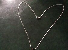 925 silver trace chain app 16 inches long x 5