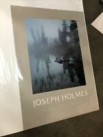 """Joseph Holmes 1985 Editions Limited Galleries Poster 35""""x25"""" (Trees In Fog)"""