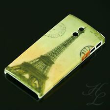 Sony lt22i xperia p Hard Case Housse de protection motif étui france paris tour eiffel