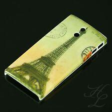 SONY LT22i XPERIA P Hard Case Schutz Hülle Motiv Etui France Paris Eiffelturm