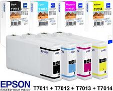 4x XXL ORIGINAL EPSON PATRONEN T7011 T7012 T7013 T7014 SET EPSON WP4000 WP4500