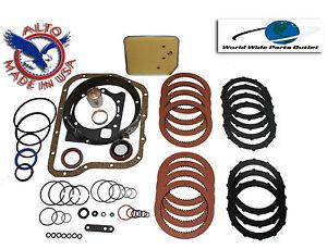 Dodge A727 Transmission Rebuild Kit High Performance Kit Stage 2 Red, Kolene TF8