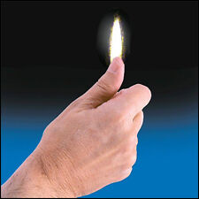 Thumb Tip Flame by Vernet fire magic trick street gag string flash paper cig