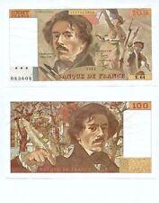Gertbrolen 100 FRANCS EUGENE  DELACROIX de 1983  X. 64 Billet Numéro 1597083608