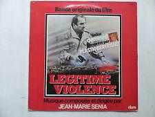 BO Film OST Legitime violence JEAN MARIE SENIA  PLASTIC BERTRAND  7636 07