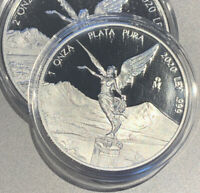 RARE IN HAND!  2020 Mexican Libertad 1 oz Silver PROOF Coin CAPSULE Mexico 1oz