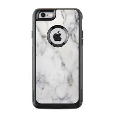 Skin for Otterbox Commuter iPhone 6/6S - White Marble - Sticker Decal