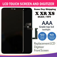 Black For i Phone X XS XR OLED LCD Touch Screen Digitizer Replacement Assembly