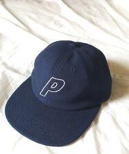 """Palace """"P"""" 6 Panel Navy Cap ss16"""