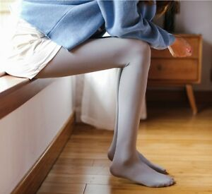 Women Winter Cashmere Stockings Spring Warm Wool Tights Pantyhose Seamless Socks