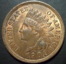 1901 BU Indian Head Cent Snow 9 - BUY IT NOW - ** ADDITIONAL COINS SHIP FREE **