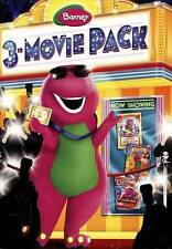 Barney: 3-Movie Pack - The Land of Make Believe/Lets Make Music/Night Before DVD