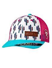 Ariat Youth Girls Multi Color Cactus Snapback Ball Cap 1519105