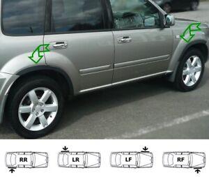 Wheel arch moulding kit Nissan X-Trail T30 matt black front rear trims easy fit