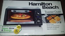NEW IN BOX Hamilton Beach 4 Slice Capacity Toaster Oven - 30 Min Cooking Timer