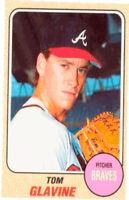 1993 Baseball Card Magazine '68 Topps Replicas Baseball SC52 Tom Glavine